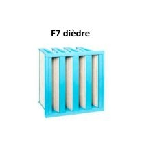 Filtro F7 alta efficienza Everest XH 5500