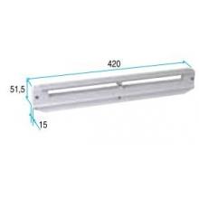 Controvento Acustico Alluminio Ral 7035