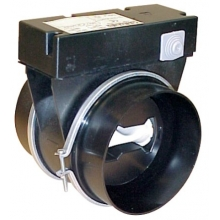 Serranda motorizzata con modulo di regolazione RMA D.125 mm - 30 mᶟ/h 230 V