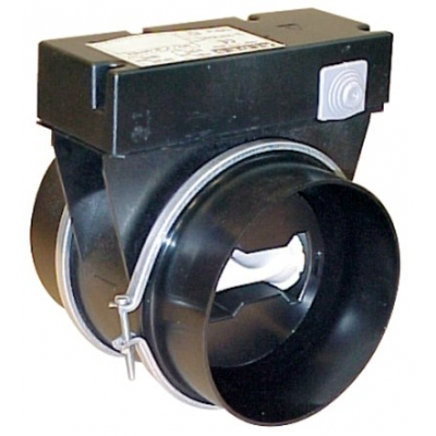 SERRANDA MOTORIZZATA CON MODULO DI REGOLAZIONE RMA DIAMETRO 125 mm - 45 mᶟ/h 230 V